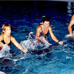 Занятия на акватренажере